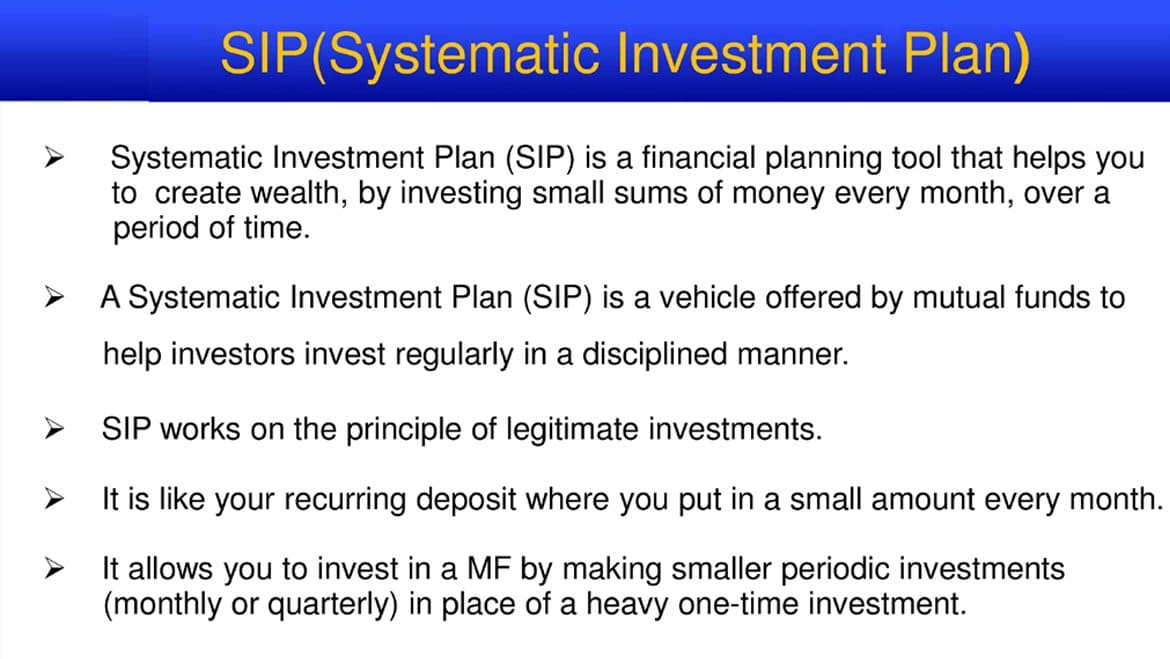 The power of Systematic Investment Plan
